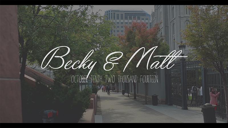 Becky & Matt