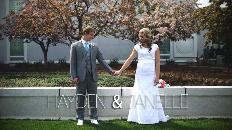 Hayden and Janelle