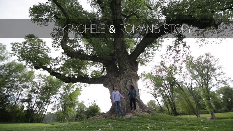 Krychele and Roman