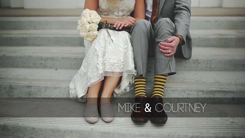 Mike and Courtney
