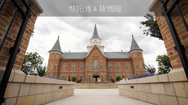 Madelyn and Raymond Provo City Center Temple
