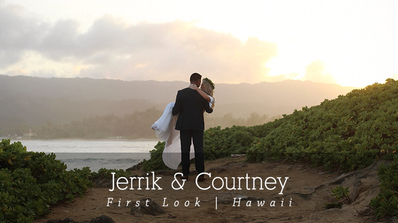 Courtney and Jerrik Laie Hawaii Wedding