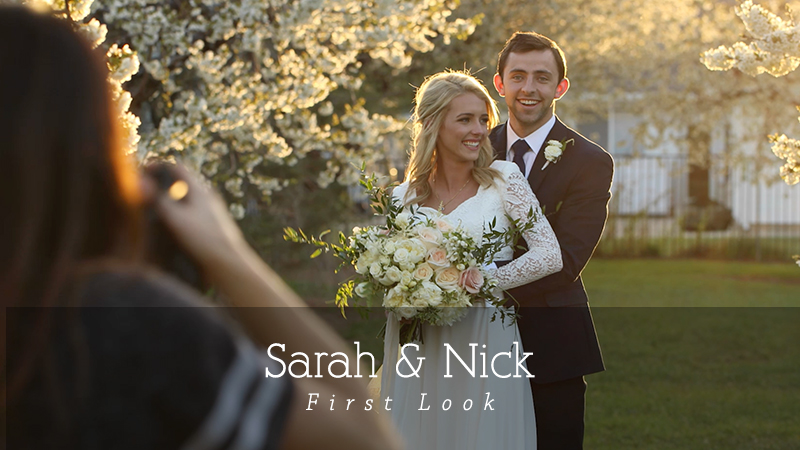 Sarah and Nick First Look